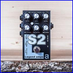 AMT Electronics S2 (Soldano) guitar preamp (distortion/overdrive) effect pedal