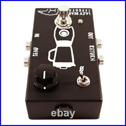 Active Guitar/Bass Signal Blender/Mixer Effects Pedal with Phase Switch
