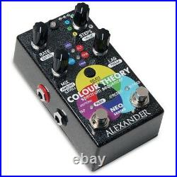 Alexander Pedals Colour Theory Spectrum Sequencer Guitar Effects Pedal with MIDI