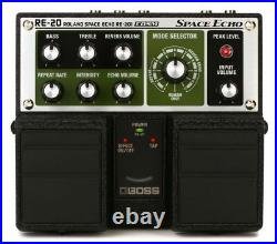 BOSS RE-20 SPACE ECHO NEW Guitar Effect Pedal MDP