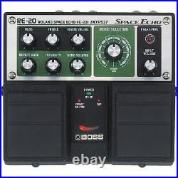 BOSS RE-20 Space Echo Reverb Delay Guitar Pedal Effect CMOS New