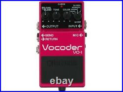 BOSS VO-1 Vocoder NEW Guitar Effects Pedal from japan