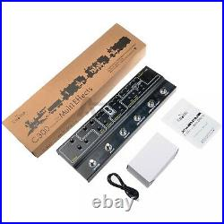 Caline C300 Multi Effect Pedal 6 in 1 Effects Pedal Guitar Pedal 6 Analog Effect
