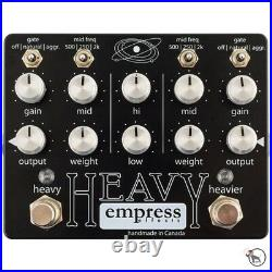 Empress Effects Heavy Distortion Dual Channel Analog Signal Guitar Effect Pedal