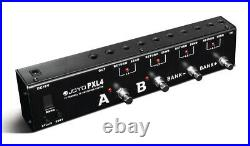 JOYO PXL-4 Guitar Effects Pedal Switcher 4 Loop Foot Controller FX Routing