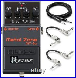 New Boss MT-2w Metal Zone Distortion Guitar Effects Pedal