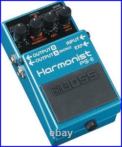 New Boss PS-6 Harmonist Pitch Shifter Guitar Effects Pedal