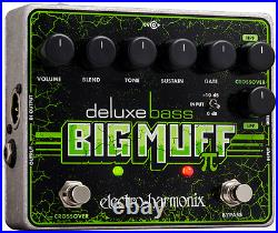 New Electro-Harmonix Deluxe Bass Big Muff Pi Distortion Guitar Effect Pedal