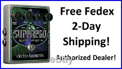 New Electro-Harmonix EHX Superego Polyphonic Synth Engine Guitar Effect Pedal