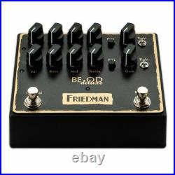 New Friedman BE-OD Deluxe Overdrive Guitar Effects Pedal