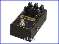 New Friedman BE-OD Overdrive Guitar Effects Pedal