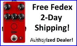 New JHS Angry Charlie V3 Overdrive Distortion Guitar Effects Pedal