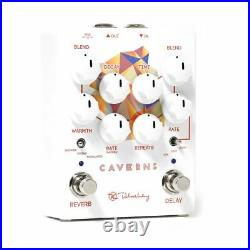 New Keeley Caverns Delay Reverb V2 Guitar Effects Pedal