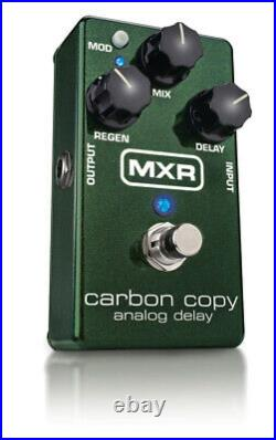 New MXR M169 Carbon Copy Analog Delay Guitar Effects Pedal Free Hosa Patches