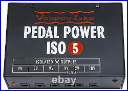 New Voodoo Lab Pedal Power ISO 5 Guitar Effect Pedal Power Supply