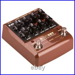 Nux Roctary Rotary Speaker Simulator Polyphonic Octave Guitar Effects Pedal