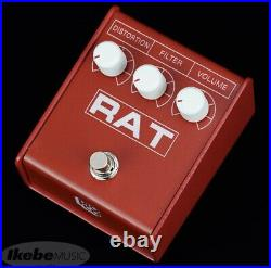 Pro-co RAT 2 RED IKEBE ORIGINAL MODEL NEW Distortion Guitar Effects Pedal