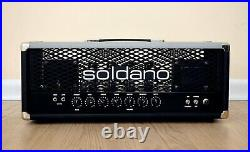 Soldano Avenger 100 Tube Guitar Amp Head with Effects Loop, New Old Stock, SLO