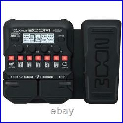 Zoom G1X Four Multi-Effects Processor with Expression Pedal for Electric Guitar